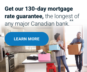 Get our 13-day mortgage rate guarantee, the longest of any major bank.*